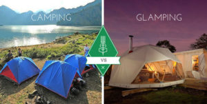 glamping contra camping